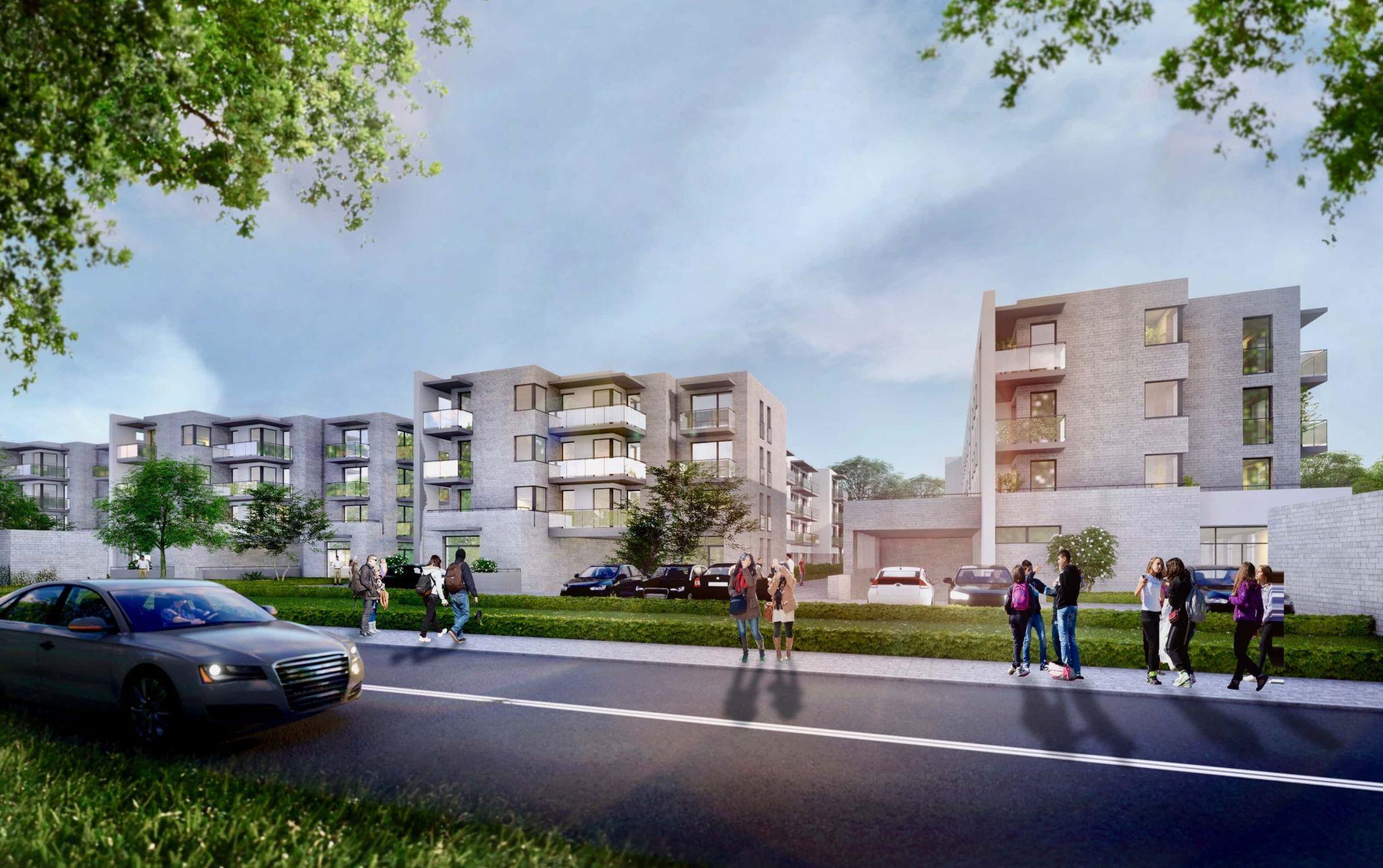 zam lipska 2 1 Trwa sprzedaż drugiego etapu nowoczesnego osiedla mieszkaniowego