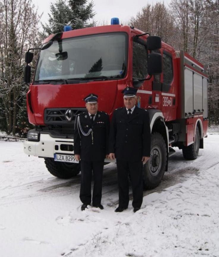 zrzut ekranu 2019 12 13 o 09 24 14 Gm. Adamów: Nowy wóz dla strażaków ochotników