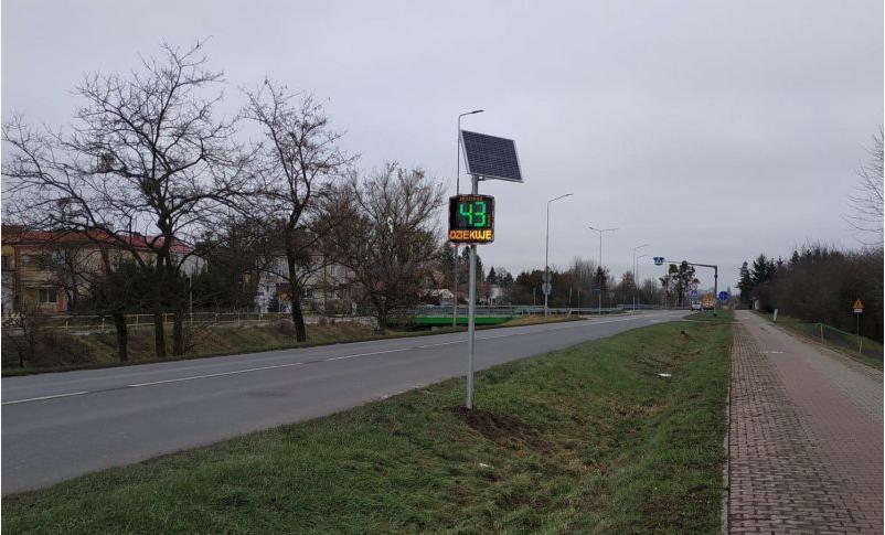 zrzut ekranu 2019 12 17 o 09 04 52 Zamość: W mieście zamontowano nowe radary mierzące prędkość kierowców
