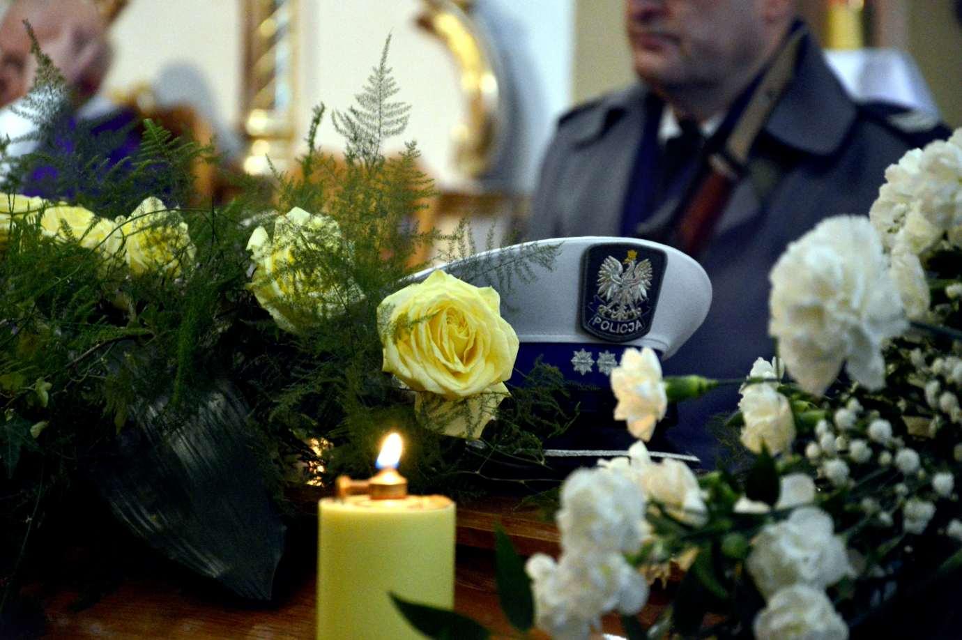 346 162234 Ostatnie pożegnanie komisarza Pawła Gruszki [ZDJĘCIA]