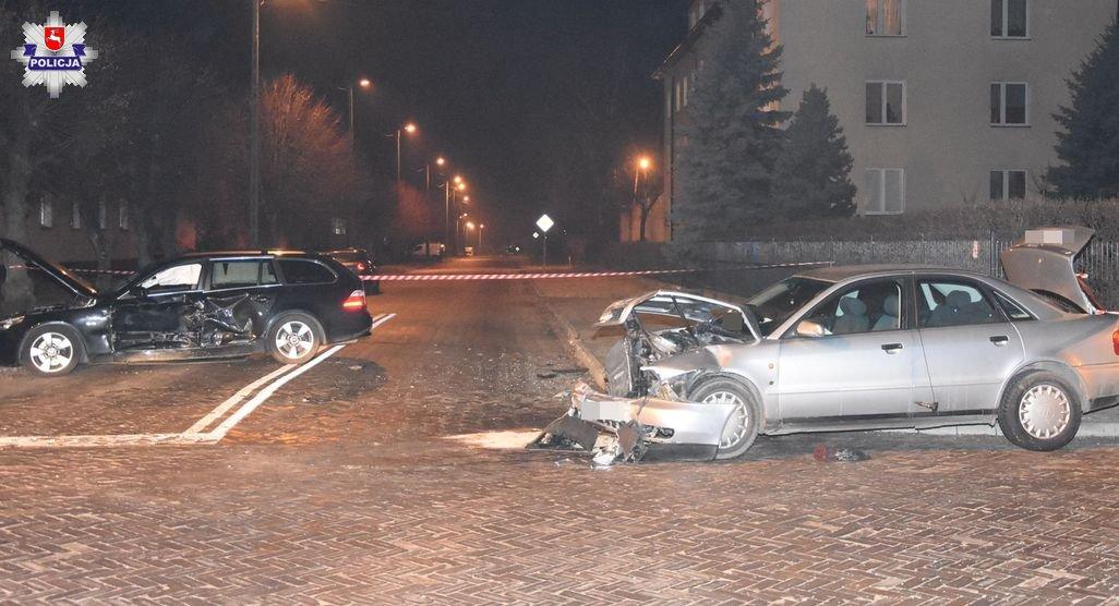 68 162164 Poważny wypadek. 5 osób, w tym dwoje małych dzieci trafiło do szpitala