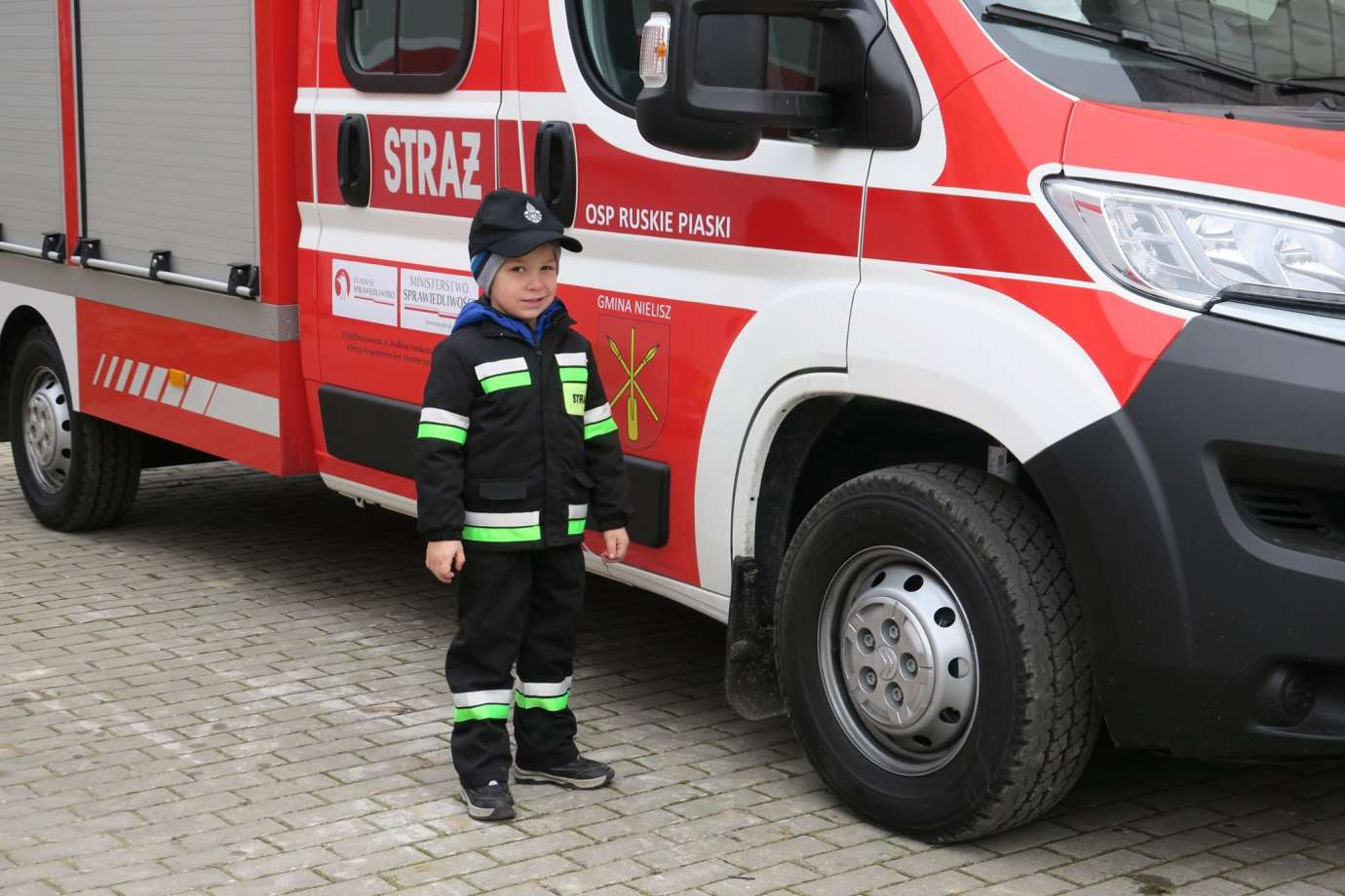 83167375 1470831609751376 1339661799259111424 o Nowy sprzęt dla strażaków z Gminy Nielisz