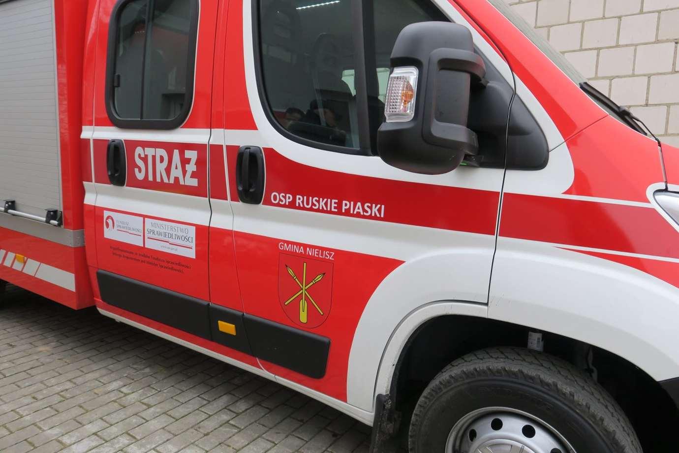 83181098 1470830646418139 3777499628904120320 o Nowy sprzęt dla strażaków z Gminy Nielisz