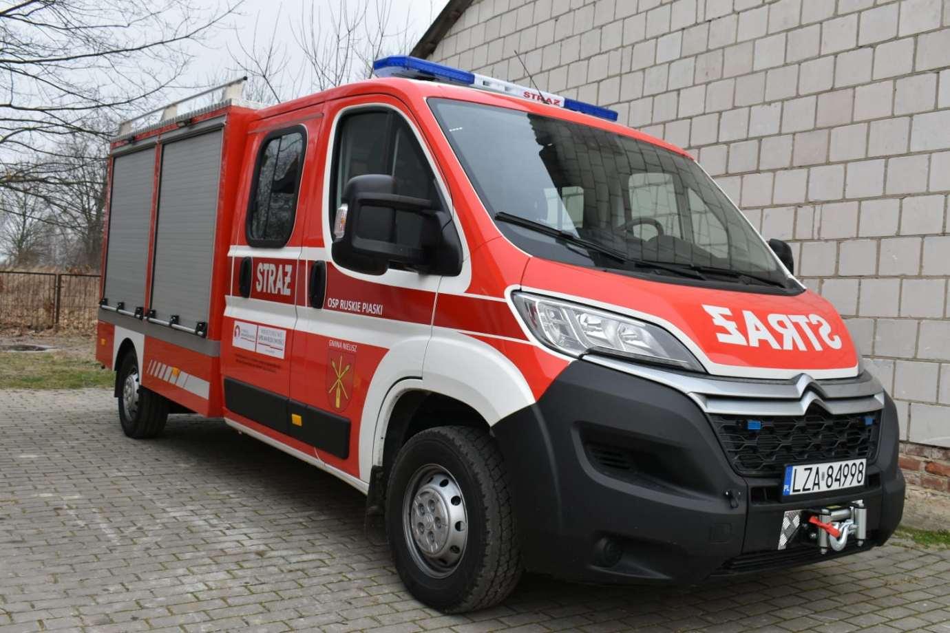 83405101 2604607839863980 2467922529365262336 o Nowy sprzęt dla strażaków z Gminy Nielisz