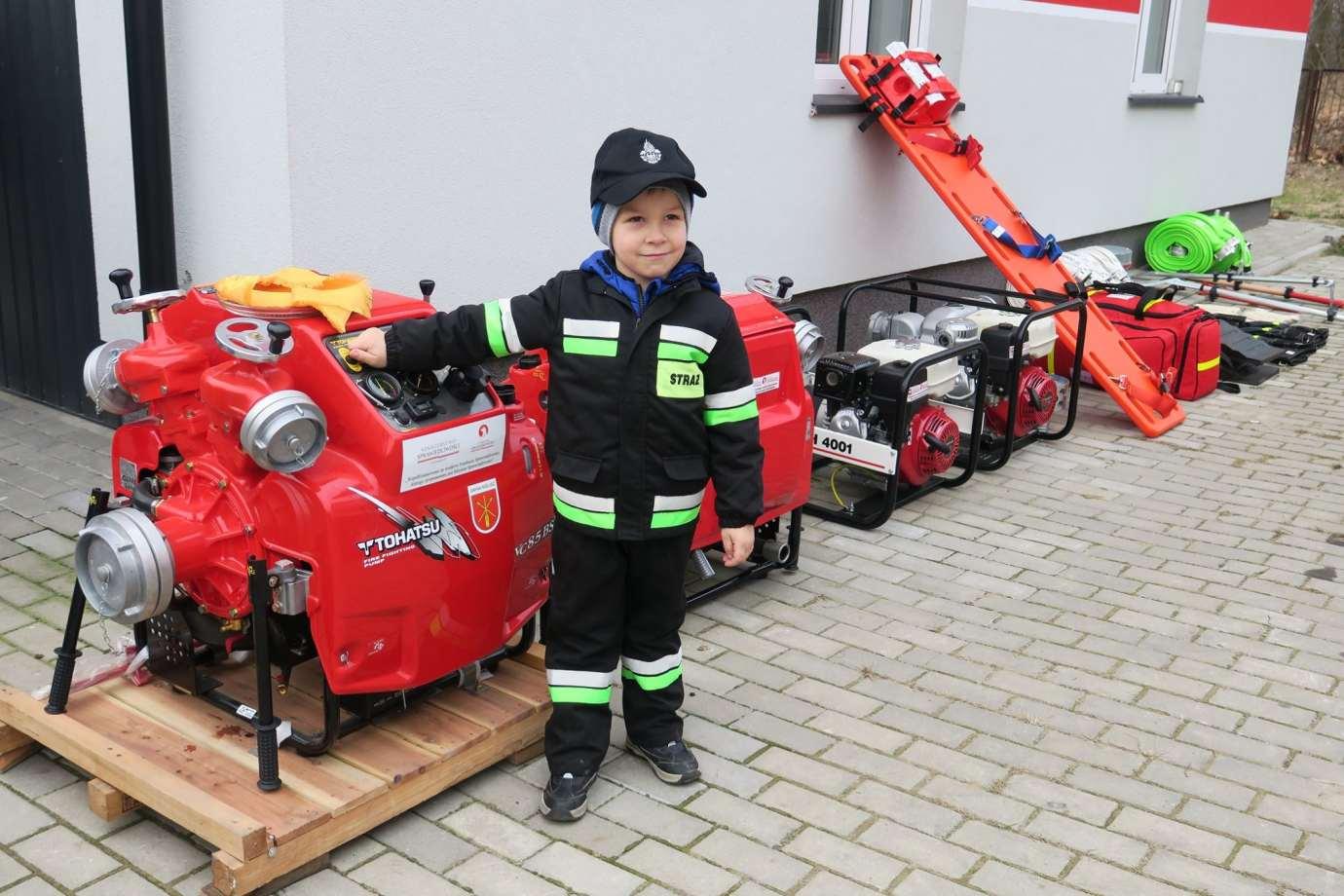 83558784 1470831519751385 4825064662322118656 o Nowy sprzęt dla strażaków z Gminy Nielisz