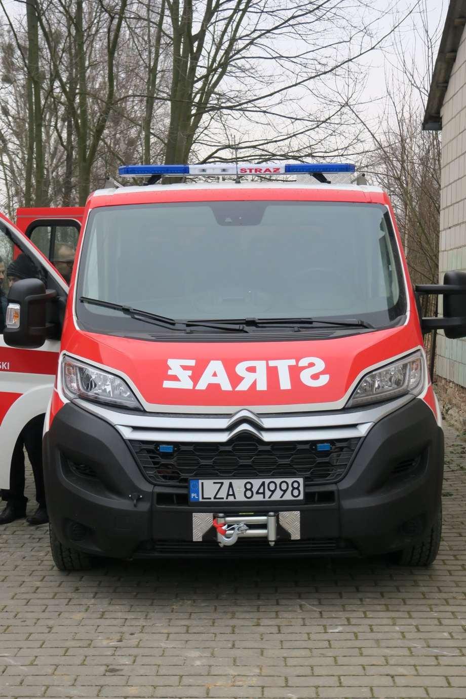 83886623 1470831909751346 6154625445825347584 o Nowy sprzęt dla strażaków z Gminy Nielisz