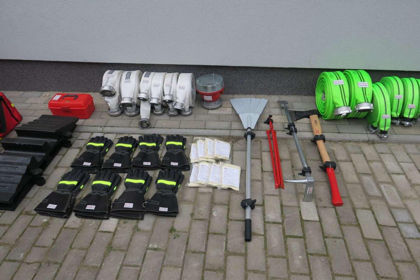 84326864 1470832159751321 6530993812225916928 o Nowy sprzęt dla strażaków z Gminy Nielisz