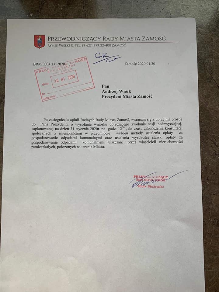 84413117 1475014352658468 1508201766267650048 n Andrzej Wnuk: Jutrzejsza nadzwyczajna sesja Rady Miasta odwołana