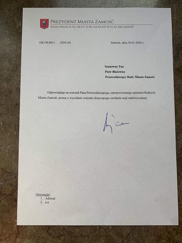 84840256 1475014432658460 2989365261708034048 n Andrzej Wnuk: Jutrzejsza nadzwyczajna sesja Rady Miasta odwołana