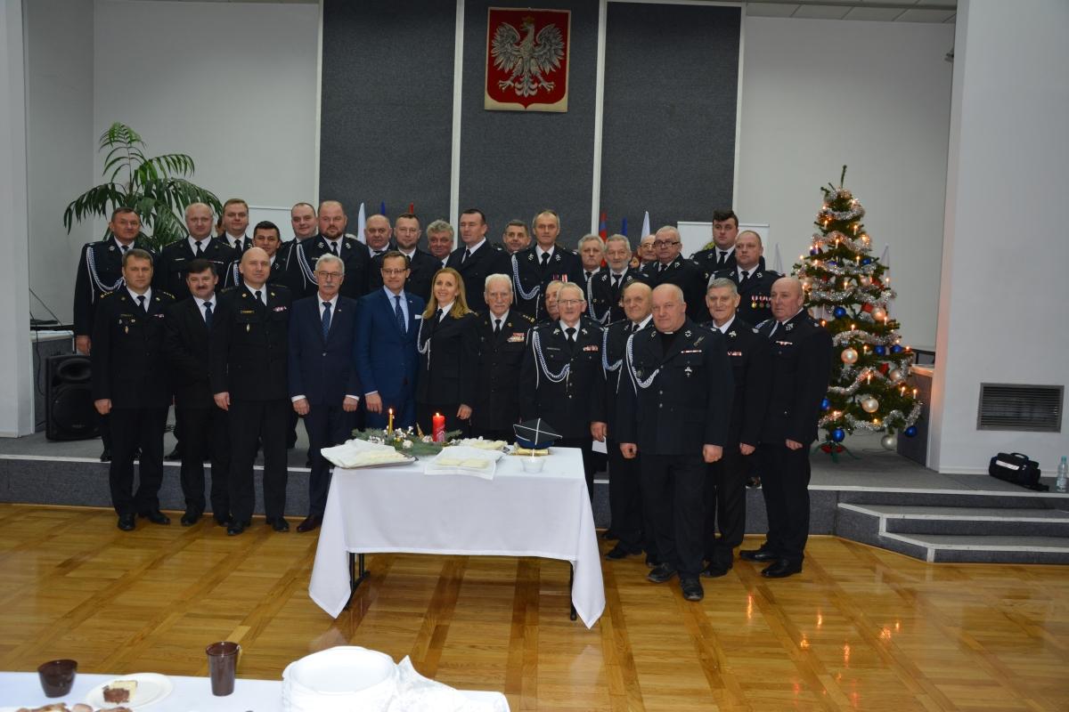 dsc 0096 Spotkane świąteczno - noworoczne strażaków z pow. zamojskiego [ZDJĘCIA]