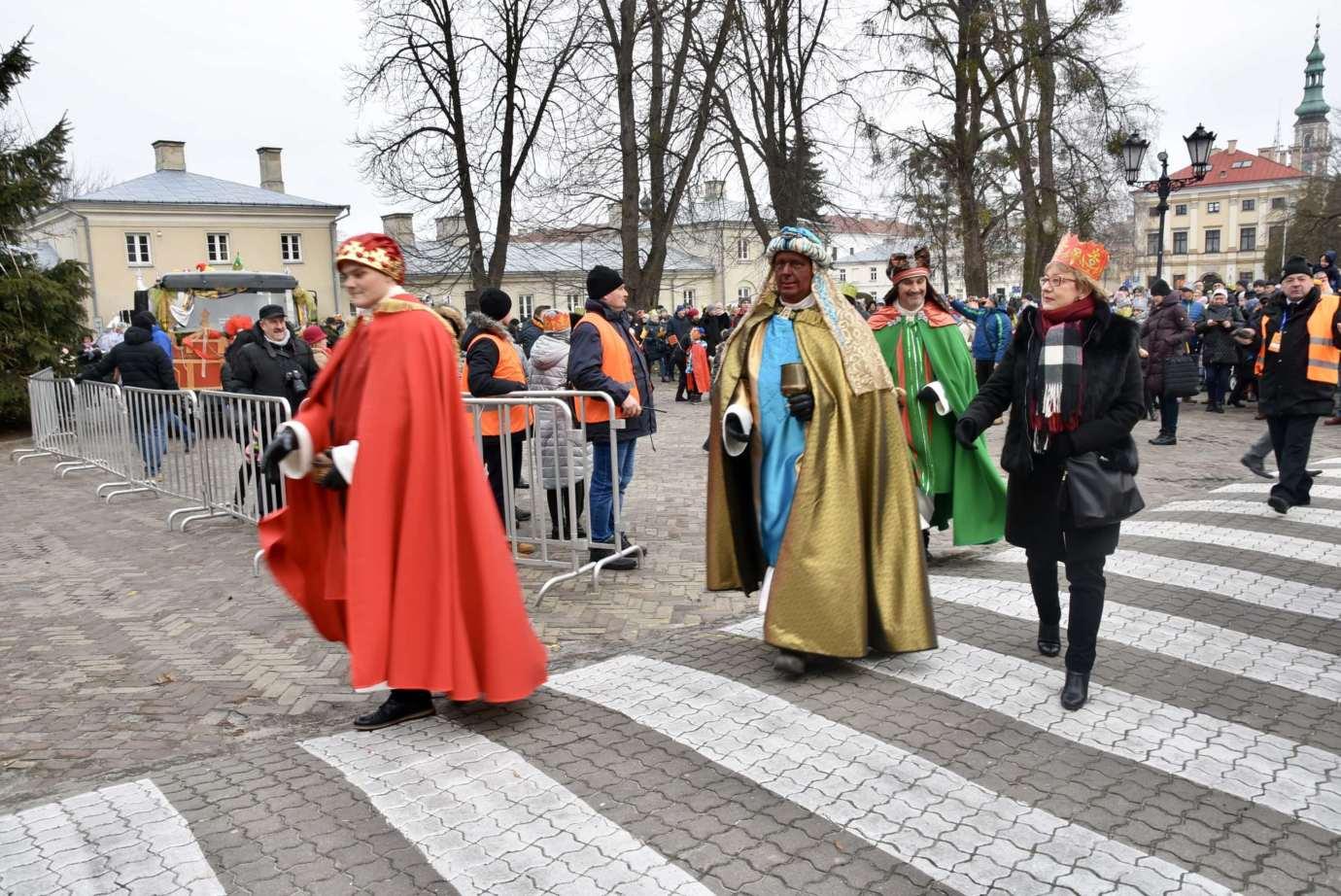 dsc 2454 Rekordowy VI Orszak Trzech Króli w Zamościu -