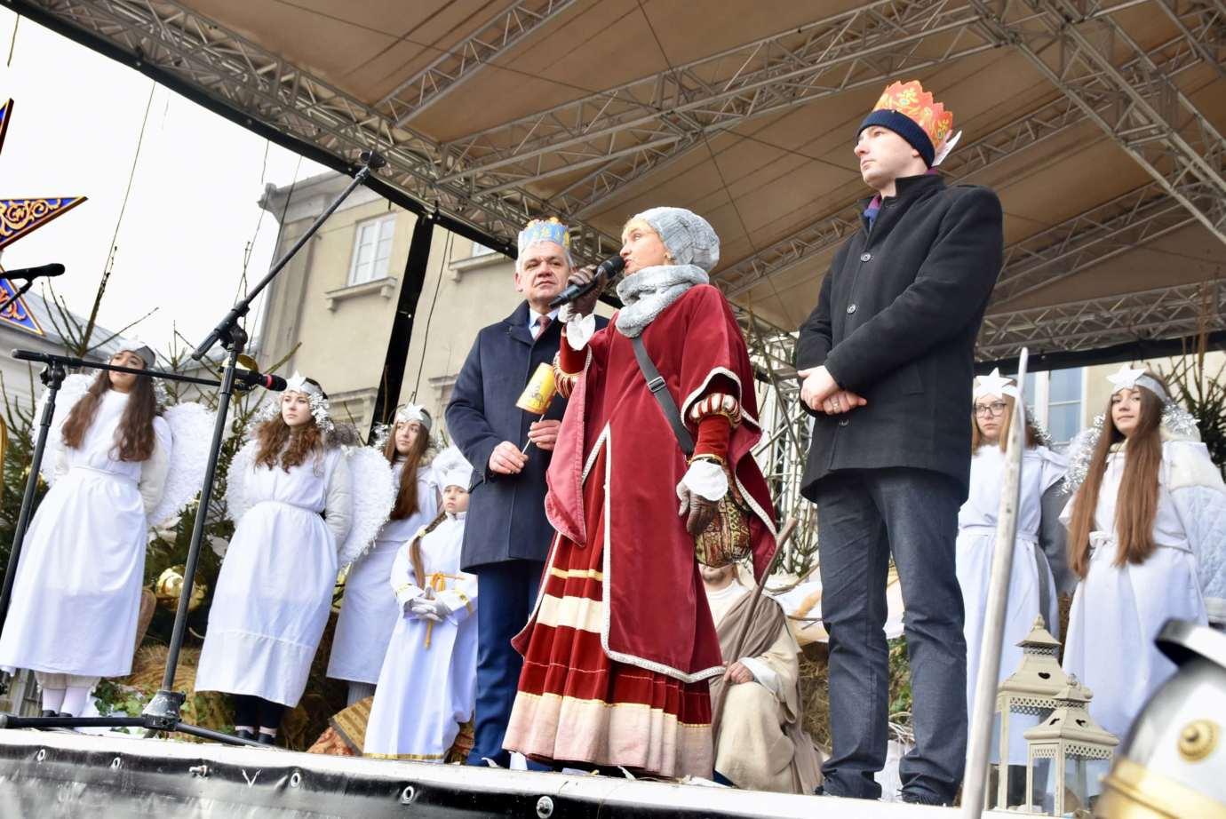 dsc 2473 Rekordowy VI Orszak Trzech Króli w Zamościu -