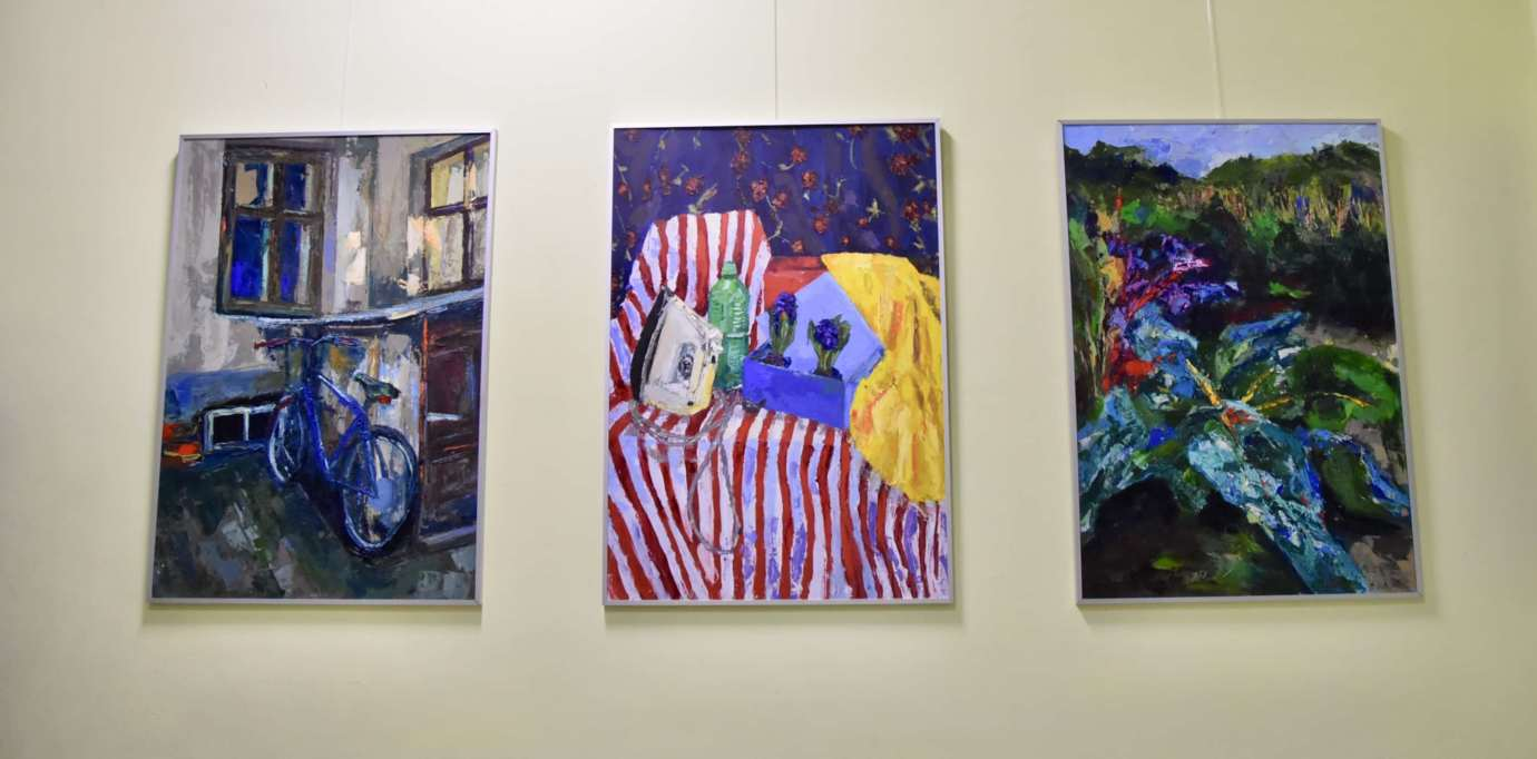 dsc 2519 Wernisaż malarstwa Alicji Siemko (fotorelacja)