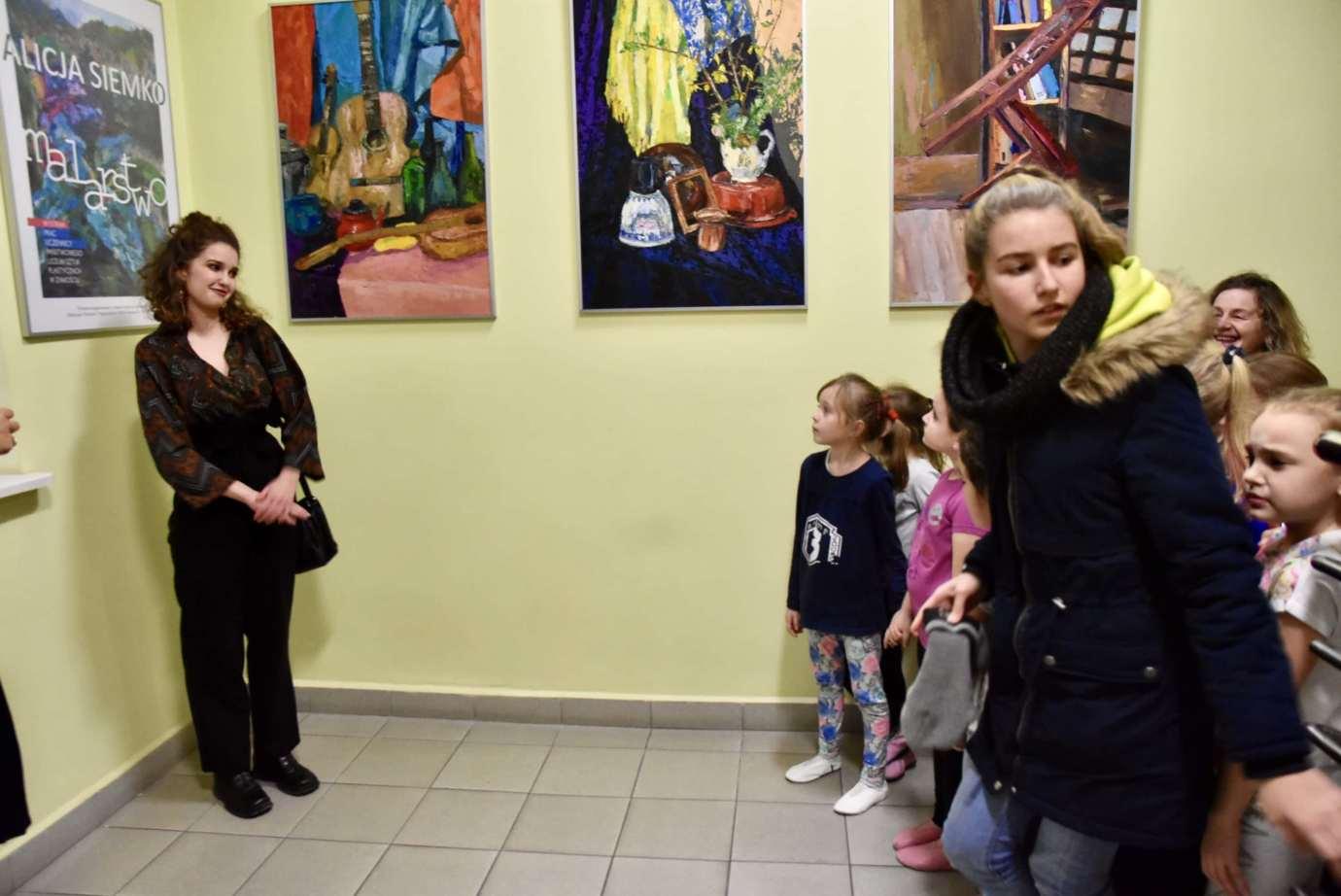 dsc 2546 Wernisaż malarstwa Alicji Siemko (fotorelacja)