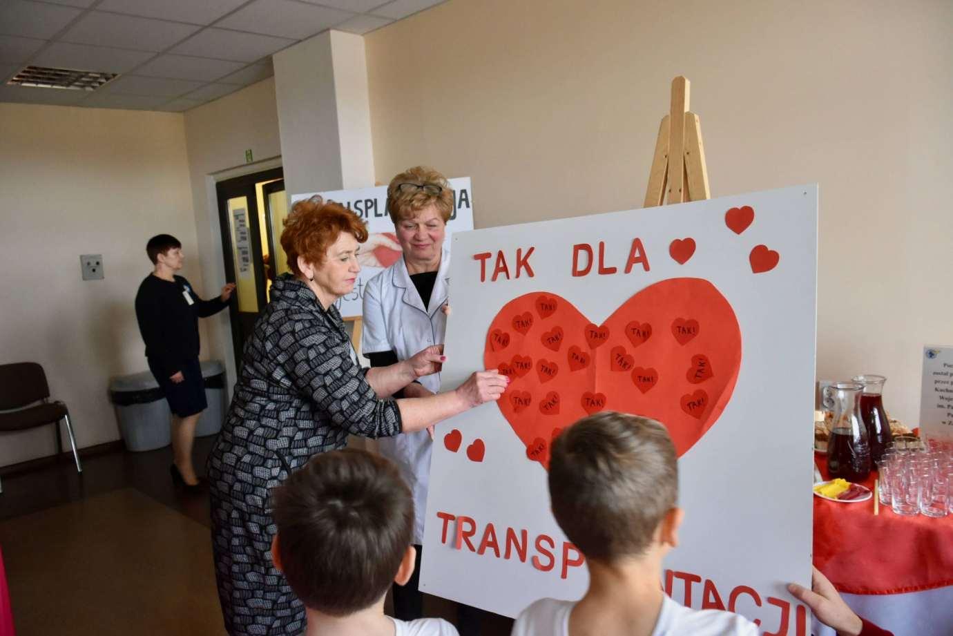 dsc 2630 Obchody Ogólnopolskiego Dnia Transplantacji w szpitalu