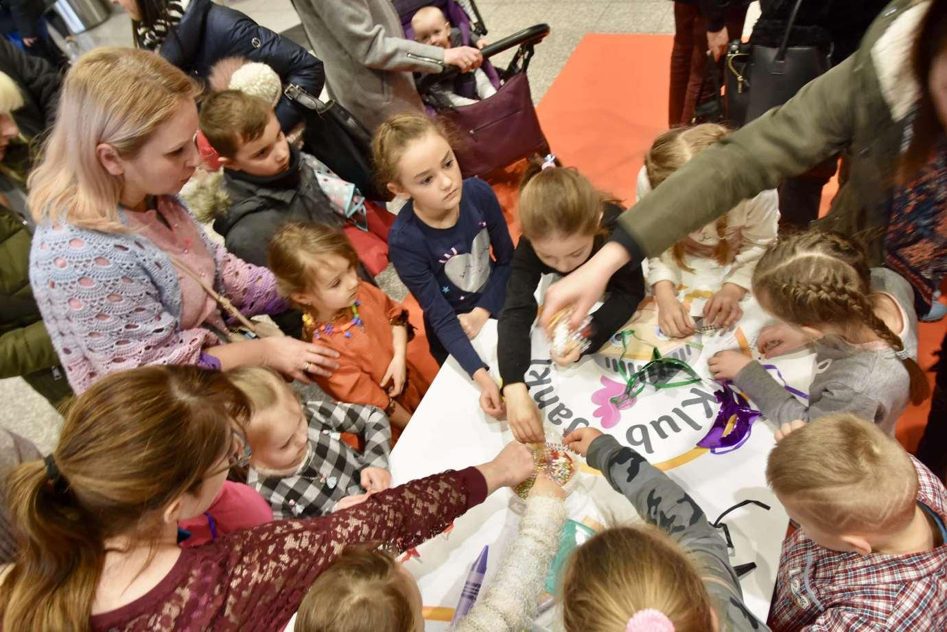 dsc 3905 Zabawa kreatywnych dzieciaków w Galerii Handlowej Twierdza (filmy i zdjęcia)