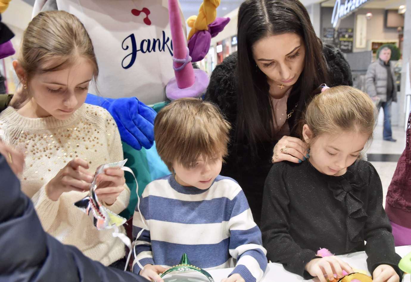 dsc 3928 Zabawa kreatywnych dzieciaków w Galerii Handlowej Twierdza (filmy i zdjęcia)