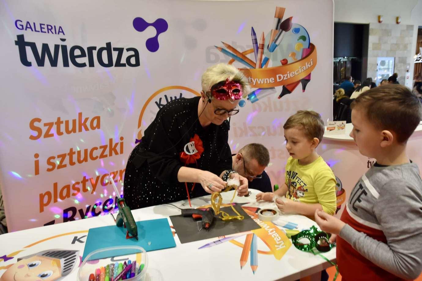 dsc 3933 Zabawa kreatywnych dzieciaków w Galerii Handlowej Twierdza (filmy i zdjęcia)