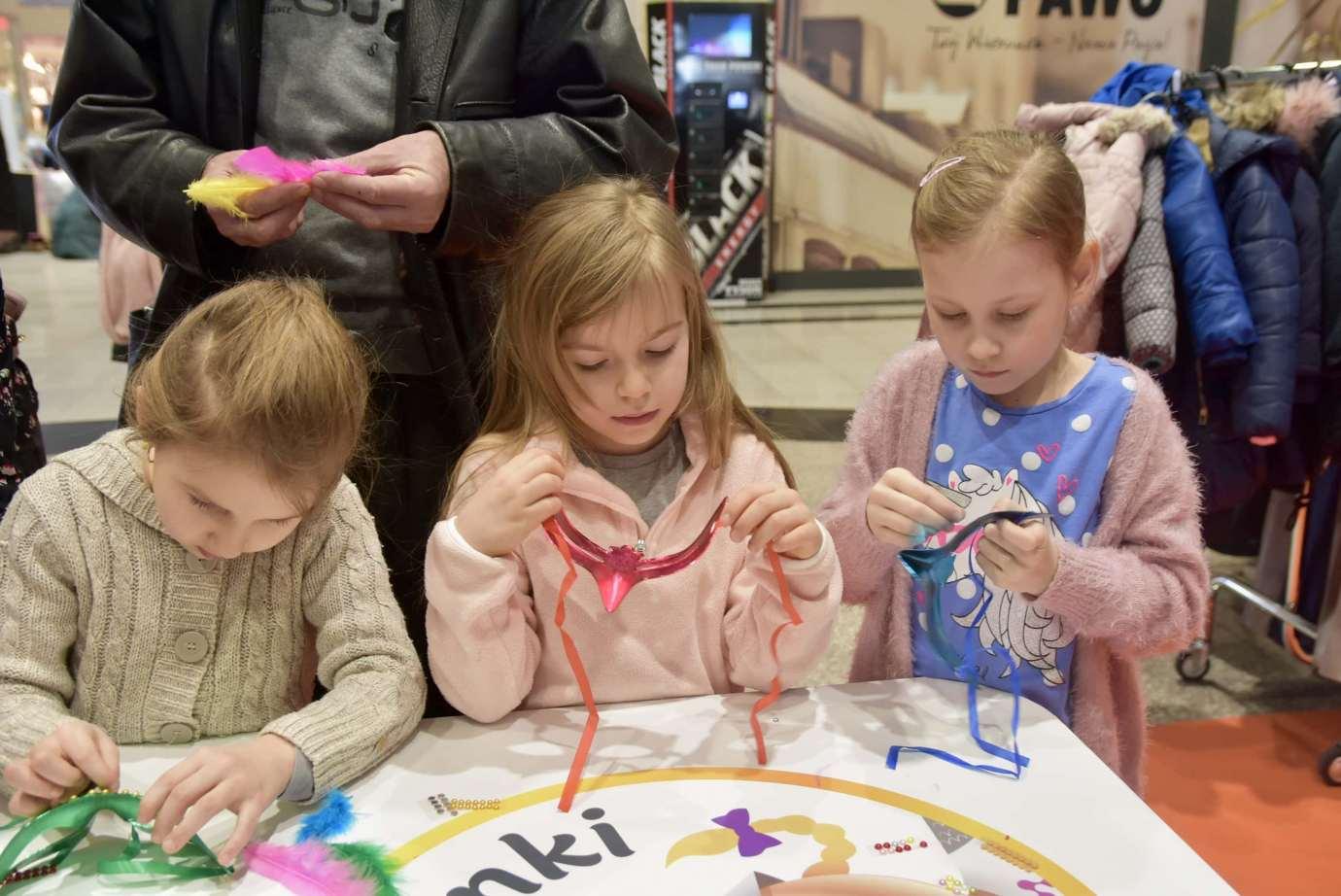 dsc 3936 Zabawa kreatywnych dzieciaków w Galerii Handlowej Twierdza (filmy i zdjęcia)