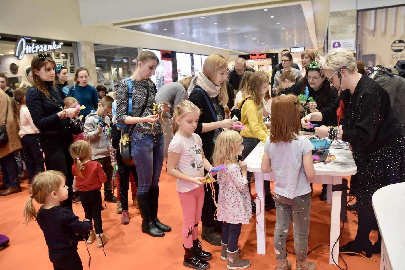 dsc 3941 Zabawa kreatywnych dzieciaków w Galerii Handlowej Twierdza (filmy i zdjęcia)
