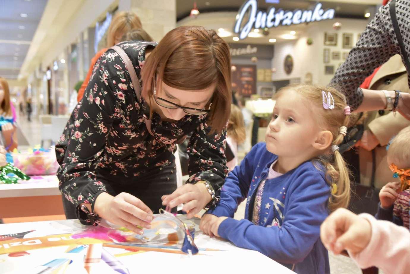 dsc 3943 Zabawa kreatywnych dzieciaków w Galerii Handlowej Twierdza (filmy i zdjęcia)