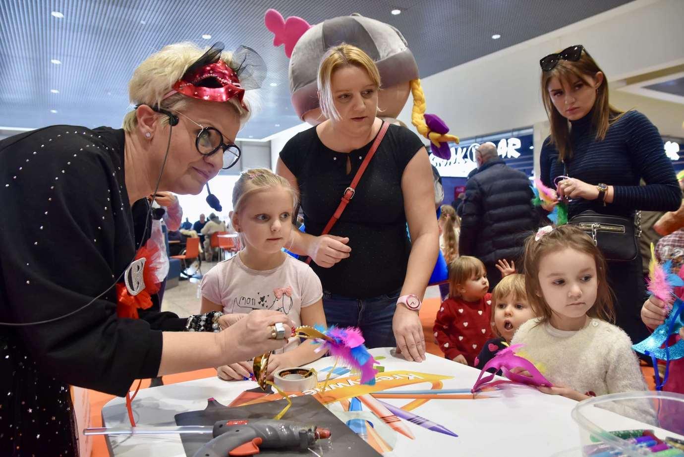 dsc 3944 Zabawa kreatywnych dzieciaków w Galerii Handlowej Twierdza (filmy i zdjęcia)