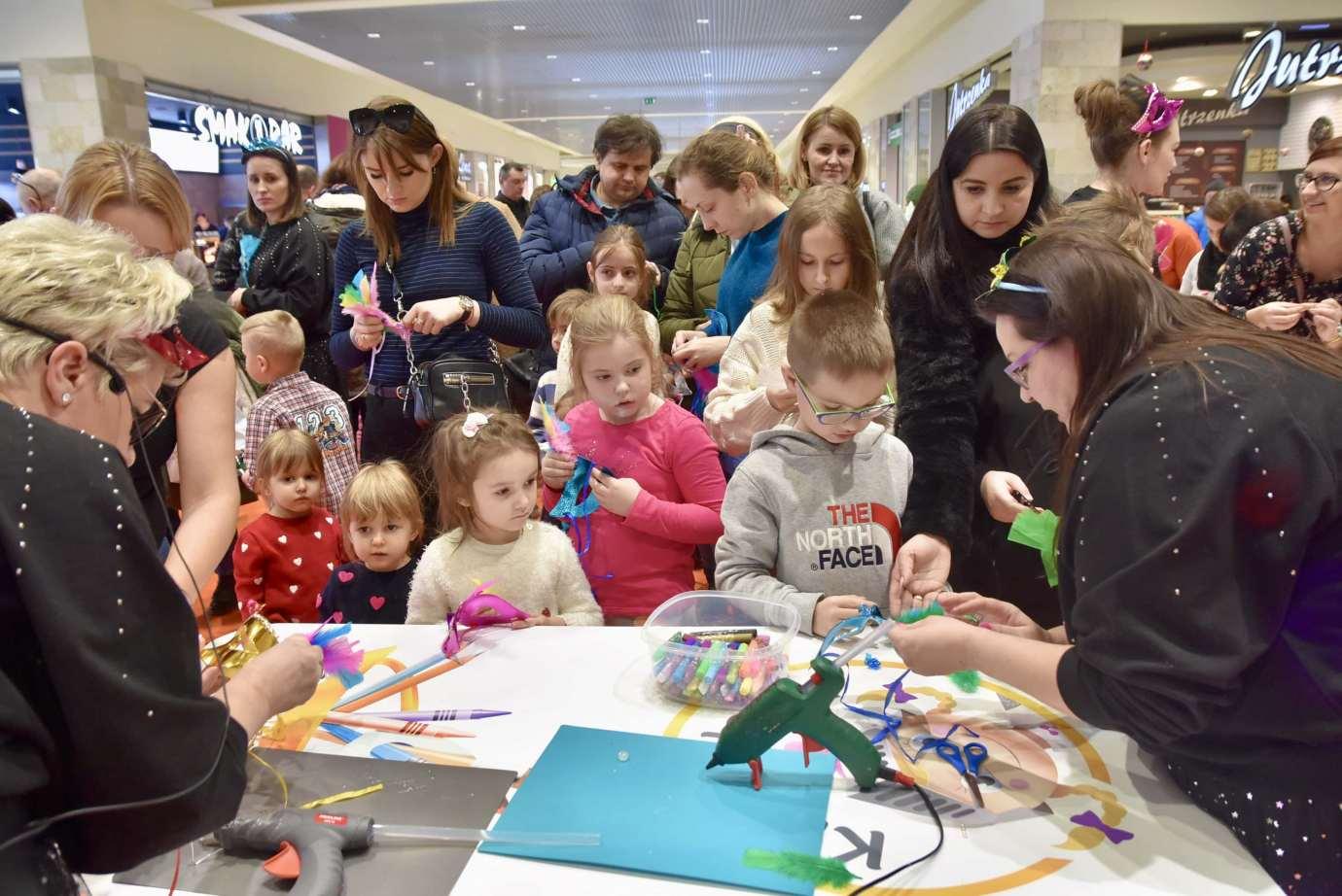 dsc 3946 Zabawa kreatywnych dzieciaków w Galerii Handlowej Twierdza (filmy i zdjęcia)