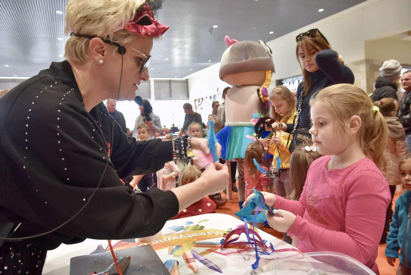 dsc 3948 Zabawa kreatywnych dzieciaków w Galerii Handlowej Twierdza (filmy i zdjęcia)