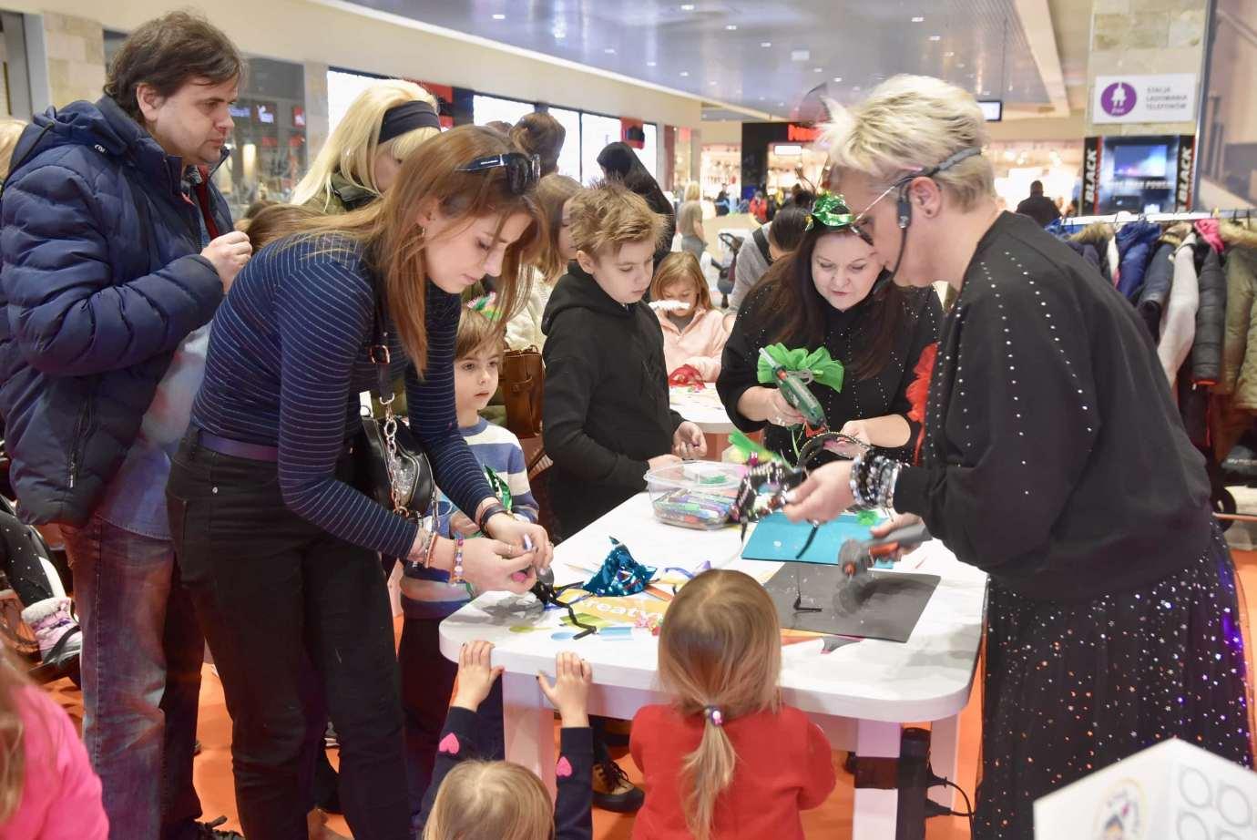 dsc 3951 Zabawa kreatywnych dzieciaków w Galerii Handlowej Twierdza (filmy i zdjęcia)