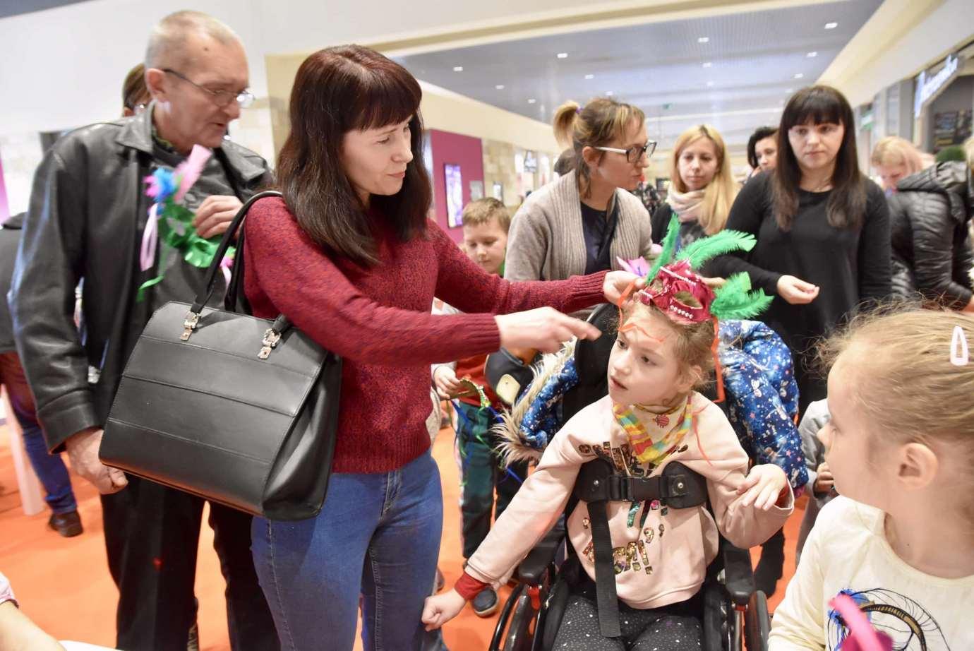 dsc 3961 Zabawa kreatywnych dzieciaków w Galerii Handlowej Twierdza (filmy i zdjęcia)