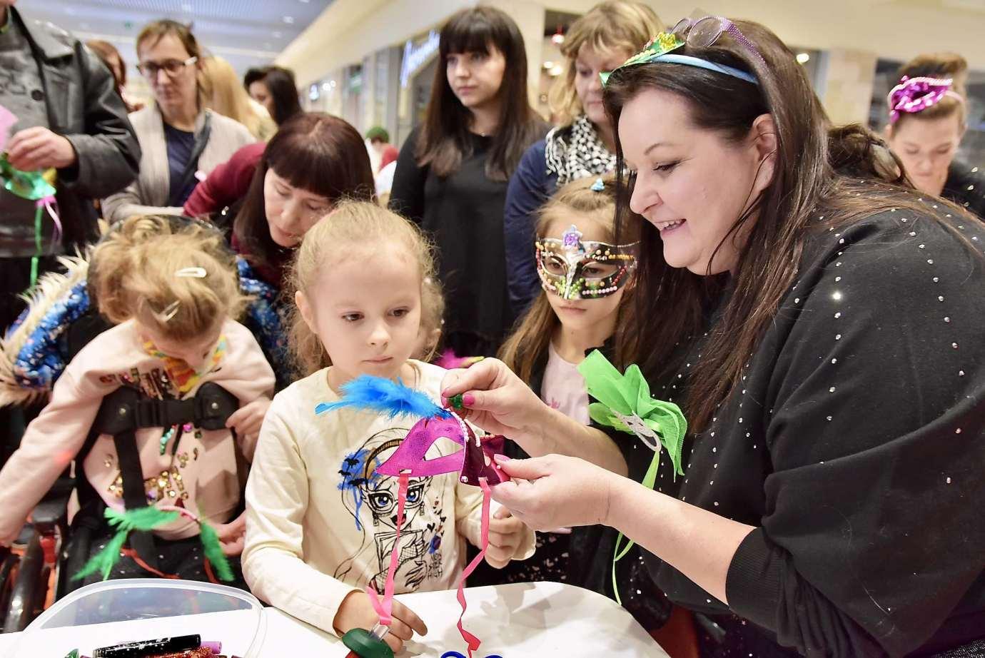 dsc 3964 Zabawa kreatywnych dzieciaków w Galerii Handlowej Twierdza (filmy i zdjęcia)