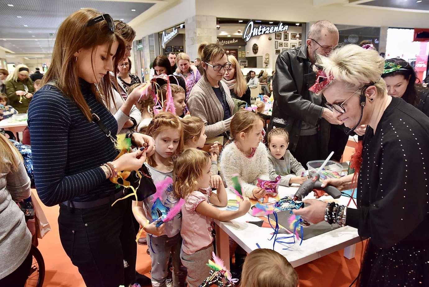 dsc 3967 Zabawa kreatywnych dzieciaków w Galerii Handlowej Twierdza (filmy i zdjęcia)