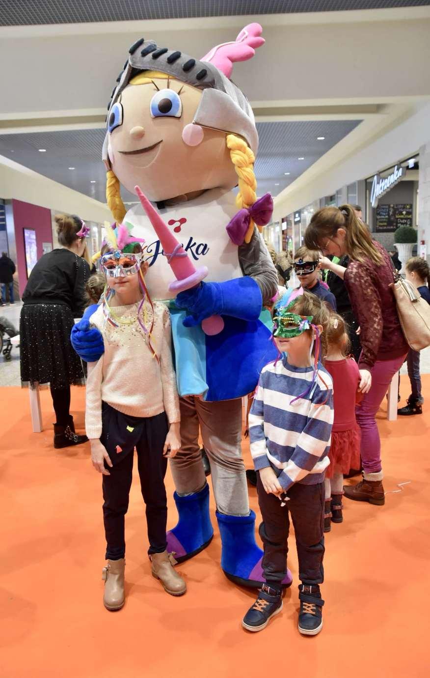 dsc 3968 Zabawa kreatywnych dzieciaków w Galerii Handlowej Twierdza (filmy i zdjęcia)