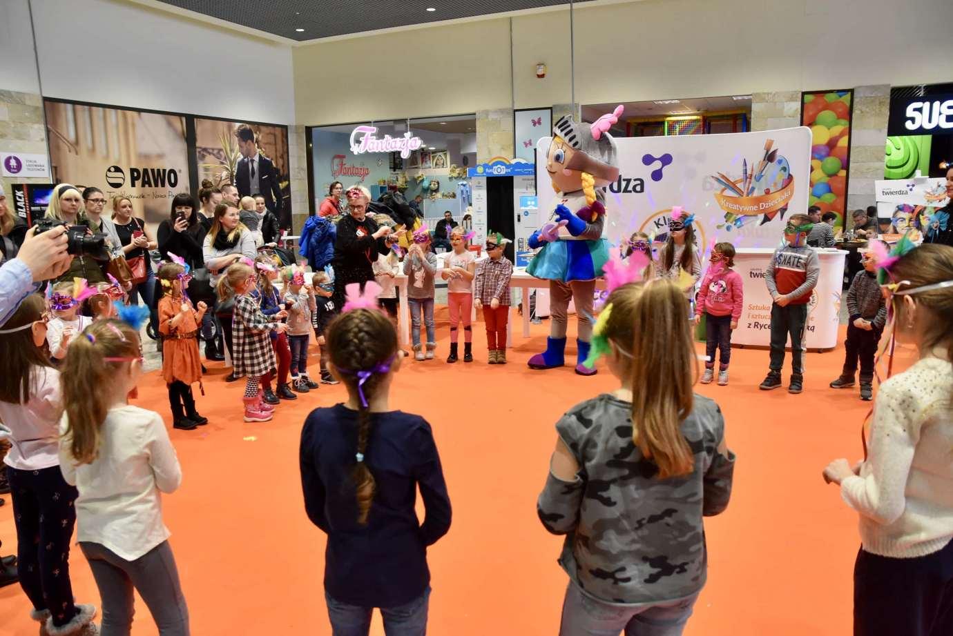 dsc 3974 Zabawa kreatywnych dzieciaków w Galerii Handlowej Twierdza (filmy i zdjęcia)