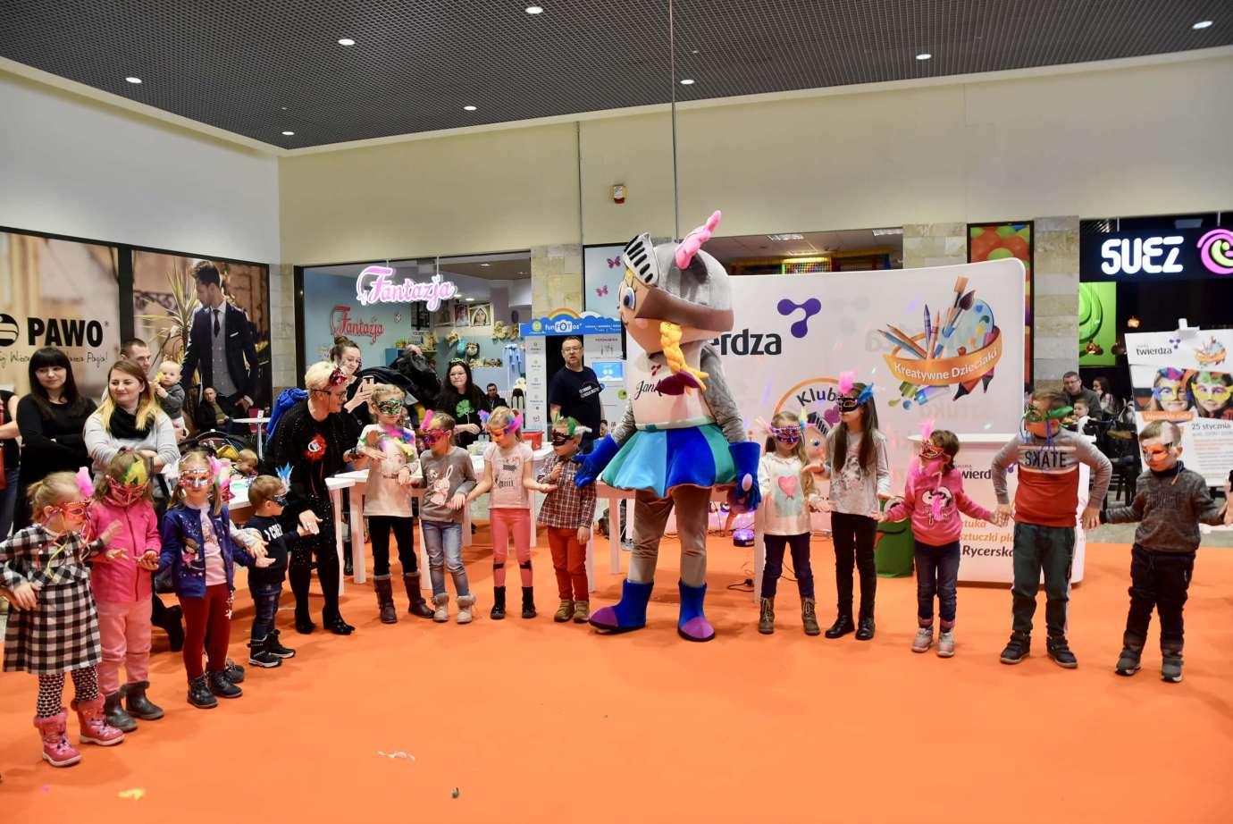 dsc 3977 Zabawa kreatywnych dzieciaków w Galerii Handlowej Twierdza (filmy i zdjęcia)