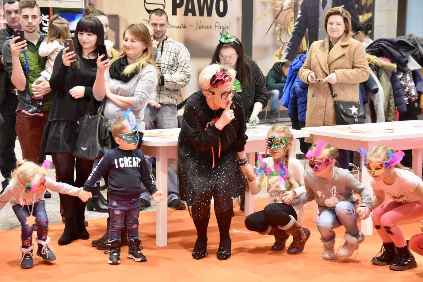 dsc 3985 Zabawa kreatywnych dzieciaków w Galerii Handlowej Twierdza (filmy i zdjęcia)