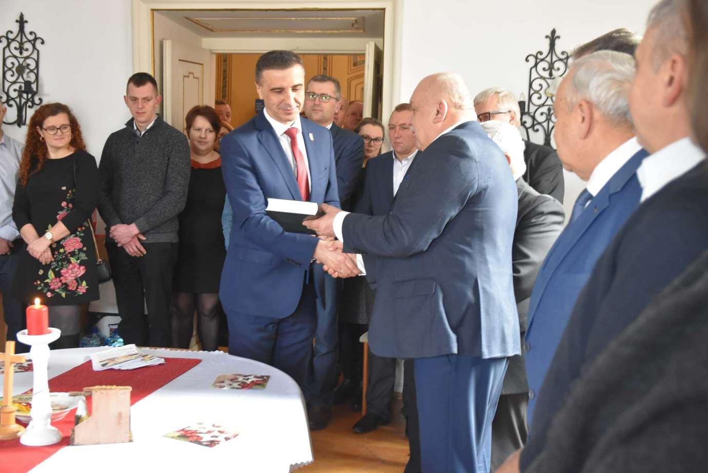 dsc 4023 Zamość: Otwarcie nowego biura poselskiego Jarosława Sachajko. [ZDJĘCIA, FILM]