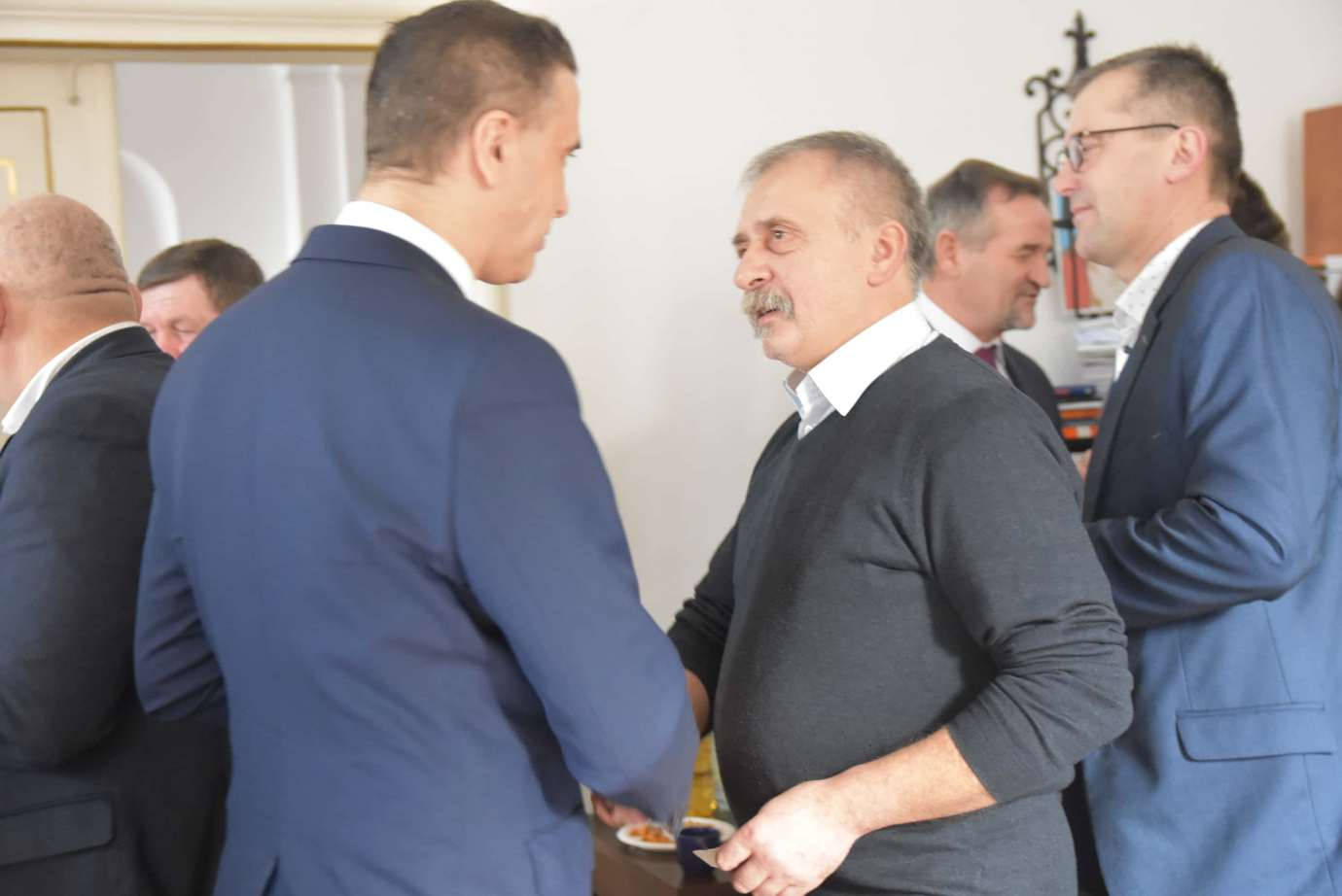 dsc 4056 Zamość: Otwarcie nowego biura poselskiego Jarosława Sachajko. [ZDJĘCIA, FILM]
