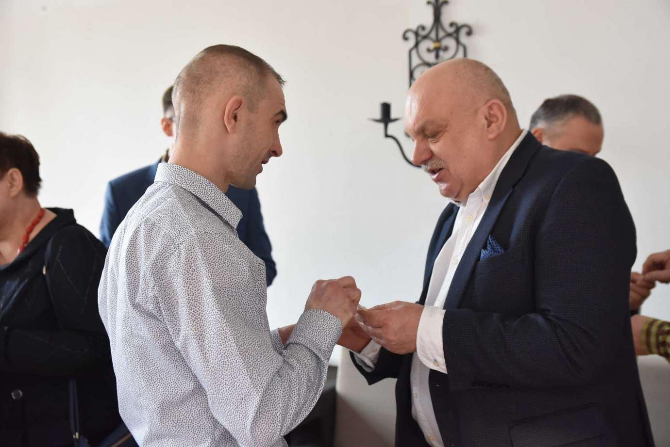 dsc 4057 Zamość: Otwarcie nowego biura poselskiego Jarosława Sachajko. [ZDJĘCIA, FILM]