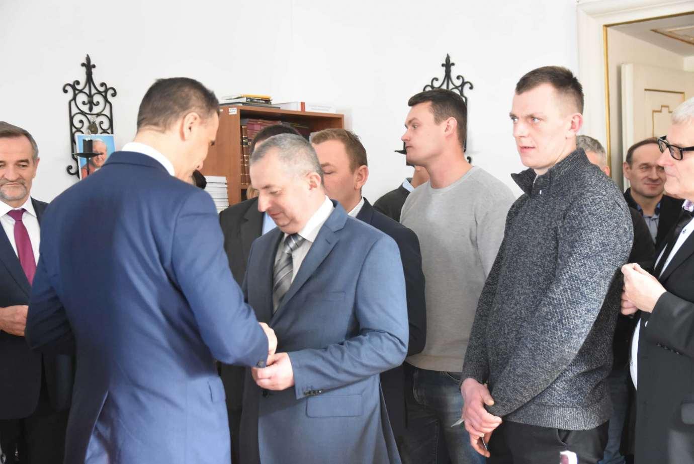 dsc 4059 Zamość: Otwarcie nowego biura poselskiego Jarosława Sachajko. [ZDJĘCIA, FILM]
