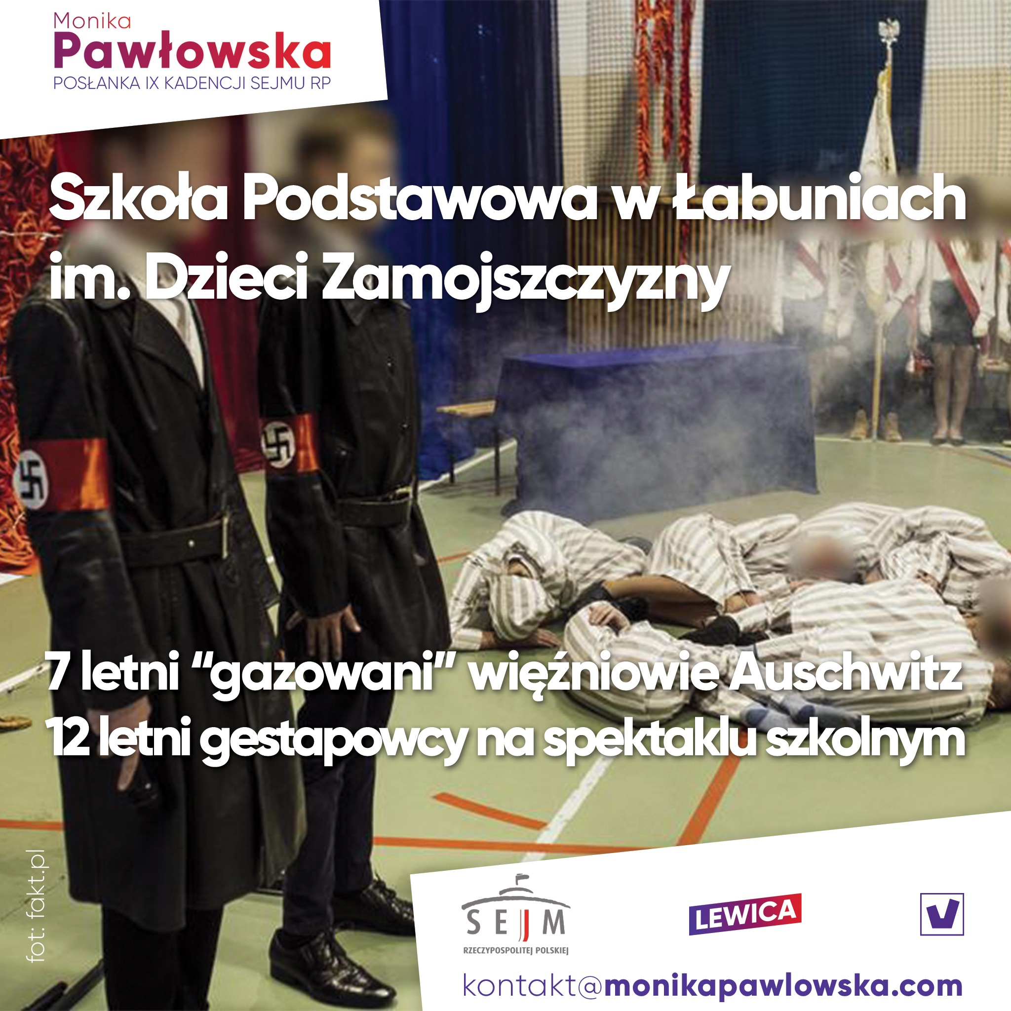 grafika nadesłana przez posłankę Monikę Pawłowską