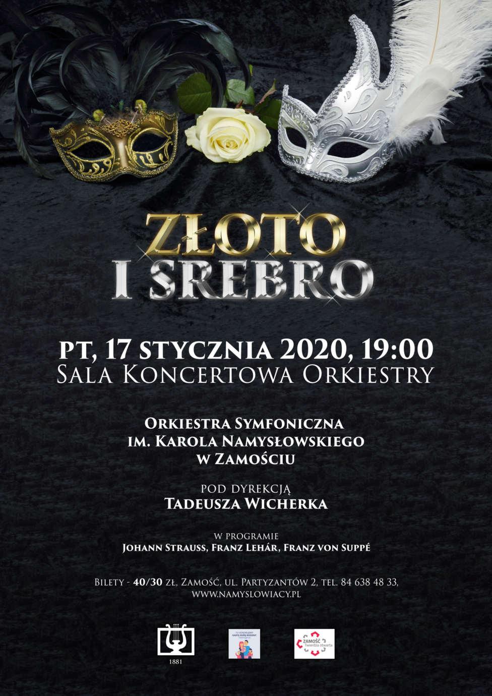 karnawalowy zloto i srebro2 Złoto i Srebro. Karnawałowy koncert Namysłowiaków