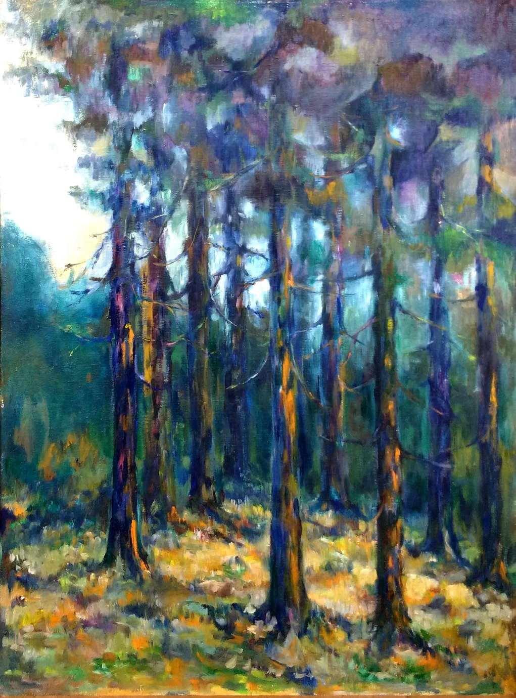 m kedra fot janusz zimon 2 Marian Kędra - malarstwo zanurzone w kolorze