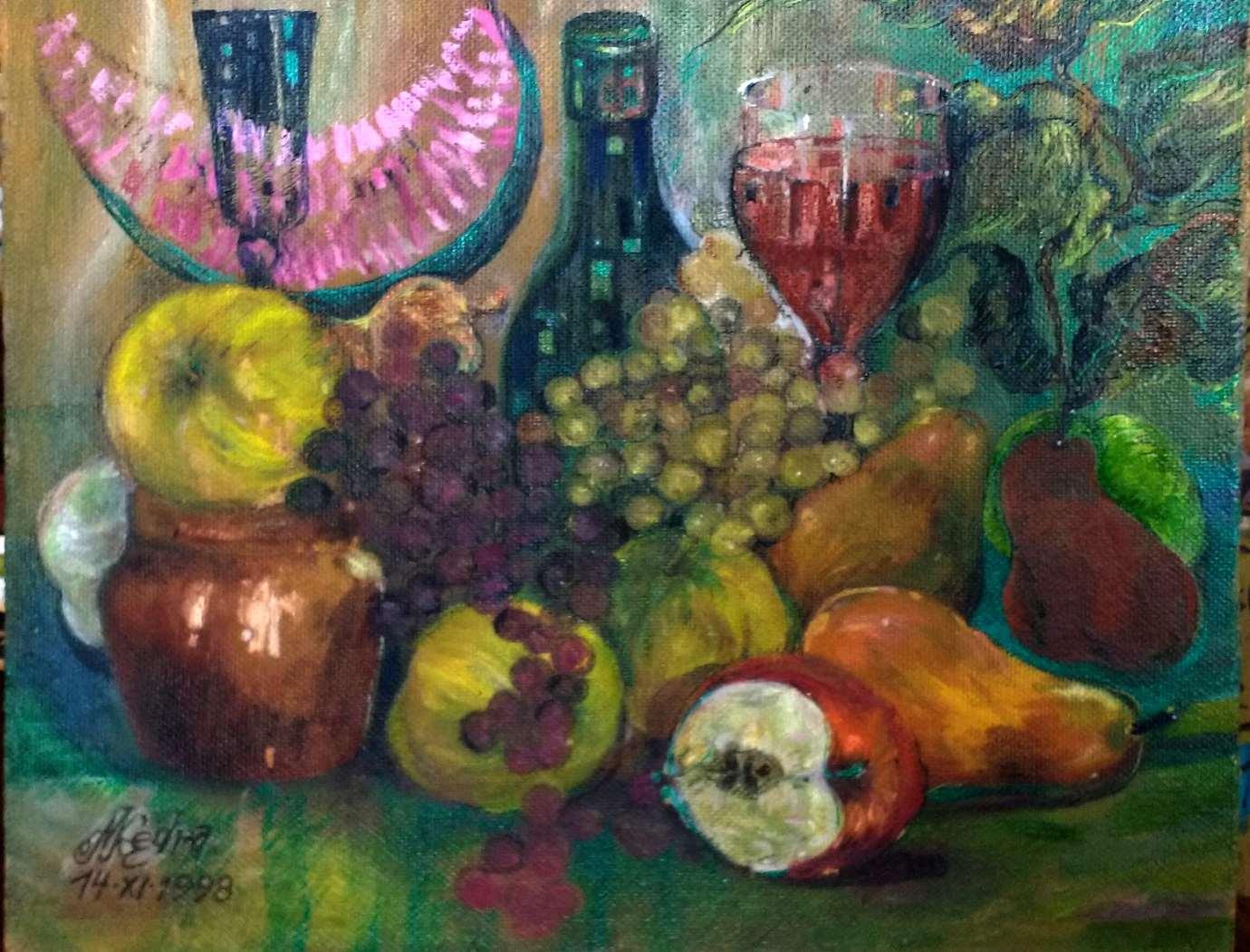 m kedra fot janusz zimon 6 Marian Kędra - malarstwo zanurzone w kolorze