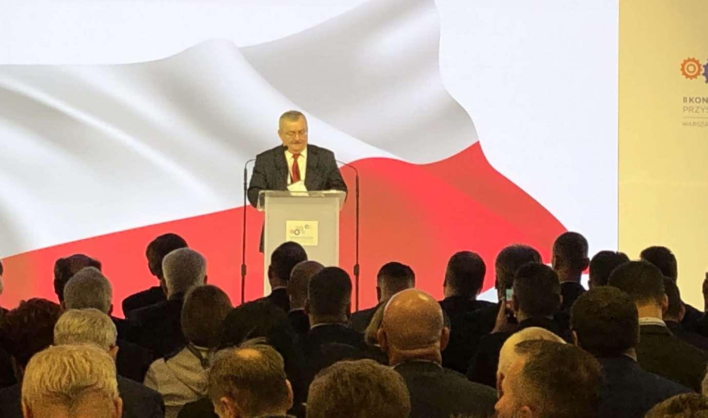 minister infrastruktury andrzej adamczyk LHS: 1000-metrowy pociąg z chińskiego Xi'an podąża do Polski