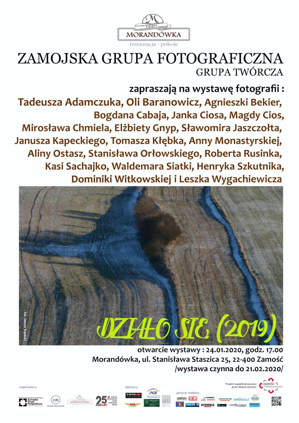 plakat dzialo sie 2019 ZGF GT zaprasza na wystawę