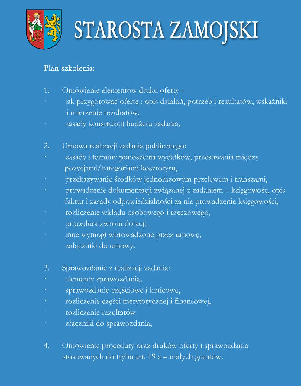 plan szkolenia easy resize com Bezpłatne szkolenie dla przedstawicieli organizacji pozarządowych