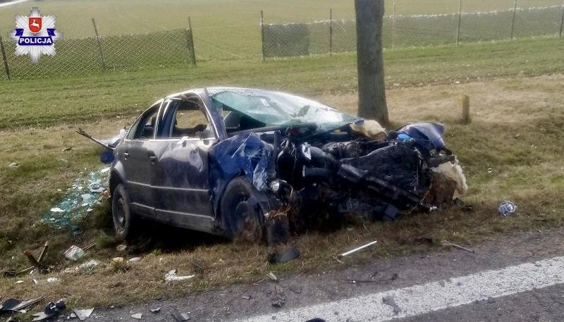 68 163476 Kierowca BMW doprowadził do zderzenia z Passatem
