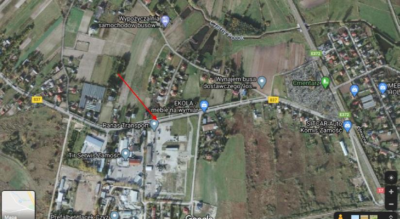 dw837 63700 mapy google www google com Dobre wieści! Przebudowa drogi Nielisz - Sitaniec zakończona. Jutro oficjalne otwarcie
