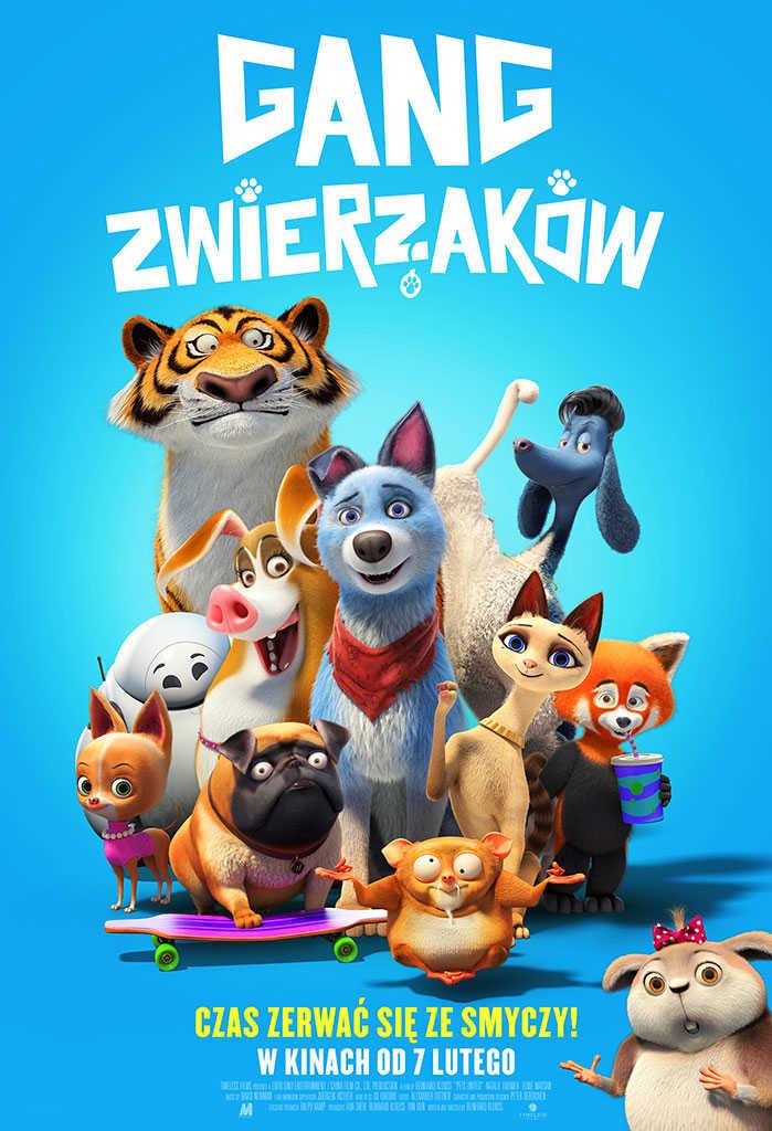 gang zwierzakow plakat Zamość: Kino przyjazne sensorycznie - Gang zwierzaków
